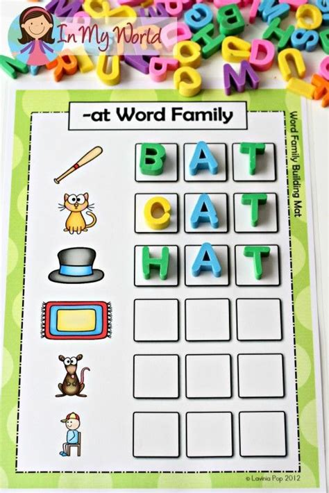 best 25 word families ideas on cvc words 428   b82a504ed175a6185172d57bcbfe9c70 kindergarten reading reading activities