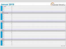 Excel Kalender 2019 Download Freewarede