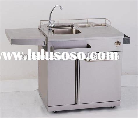 outdoor kitchen sink and cabinet stainless steel outdoor kitchen cart for price 7244