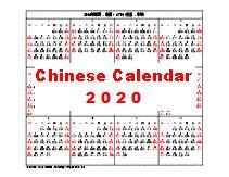 chinese calendar year rat