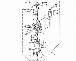 Carburetor  Blazer 50cc Atv