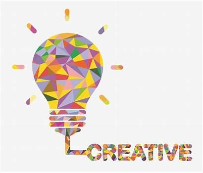 Creative Idea Thinking Clipart Bulb Innovative Concept