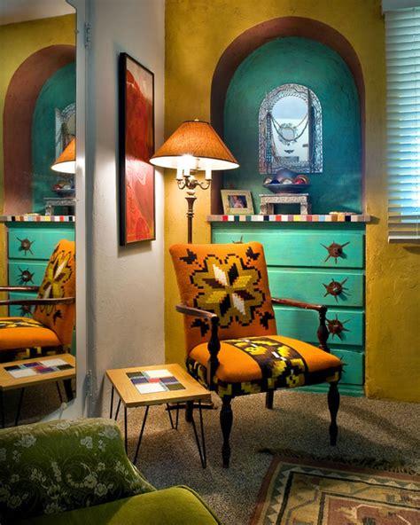 colorful guest bedroom eclectic bedroom