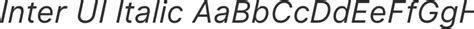 Inter UI Font Family : Download Free for Desktop & Webfont