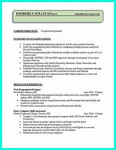 Resume Template On Microsoft Word Computer Programmer Resume Examples To Impress Employers