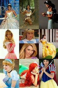 Real Life Disney Princesses