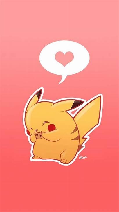 Pikachu Iphone Wallpapers Pokemon Backgrounds Pokeball Aesthetic