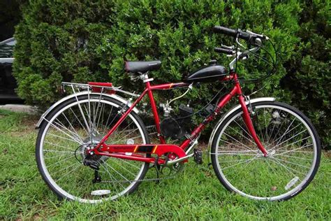 Black 80cc 2stroke Petrol Motor Bicycle Engine Motor Kit
