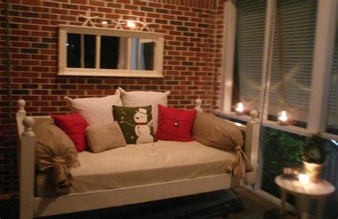emerson bed swing  vintage porch swings charleston sc eclectic living room