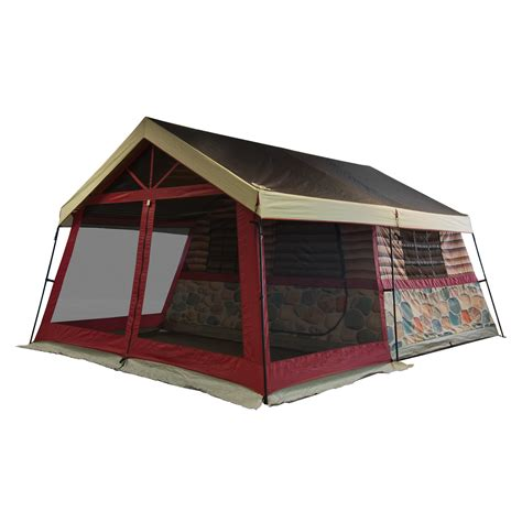 cabin tents for igloo introduces the log cabin lodge tent