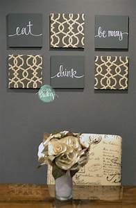 charcoal gray and cream eat drink be merry set With kitchen colors with white cabinets with eat drink be merry wall art