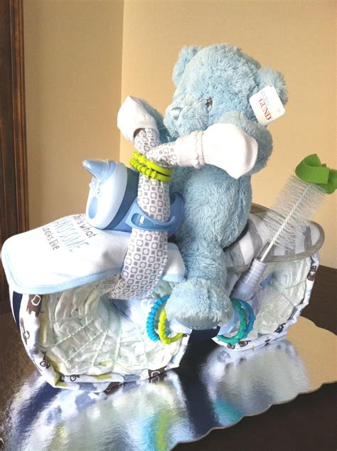 motorcycle baby shower items similar to boys motorcycle cake baby shower