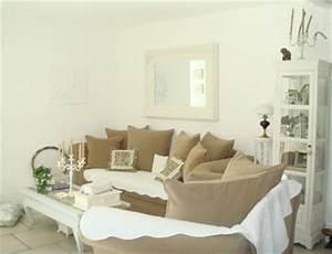 deco maison beige blanc With salon couleur taupe et beige 0 deco chambre adulte blanc meilleures images d