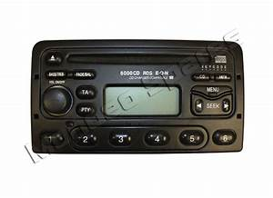 Ford 6000 Rds Eon Cd Player Radio Mondeo Cougar Puma Fiesta Focus Code