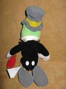 Disneys Pinocchio + Jiminy Crichet 7 Plush Bean Bag Toy ...