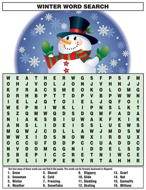 word search  kids activity shelter