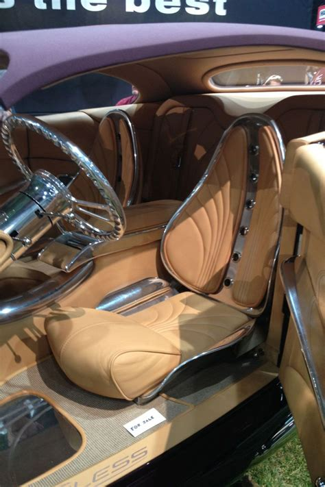 Cool Custom Car Interiors At Sema Wild Custom Coupe Front