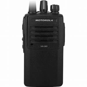 Motorola Vx-261 450-520 Mhz Ufh2 1-5w With 16 Channels - Analog - Portable  Handheld Radios