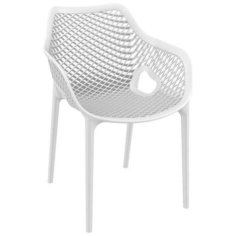 chaise plastique blanche chaise plastique blanc free elgant chaise plastique