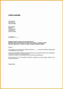 lettre de resiliation de bail meuble 2 9 exemple de With resiliation bail meuble proprietaire