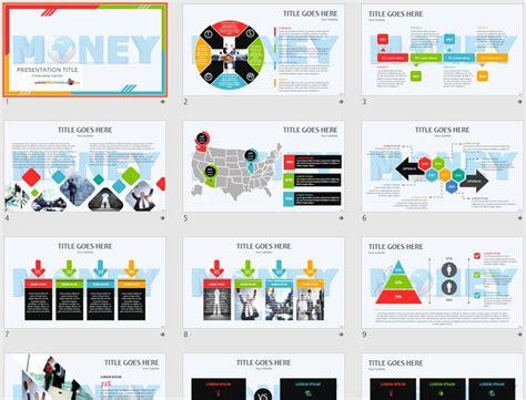 money powerpoint template  sagefox  powerpoint
