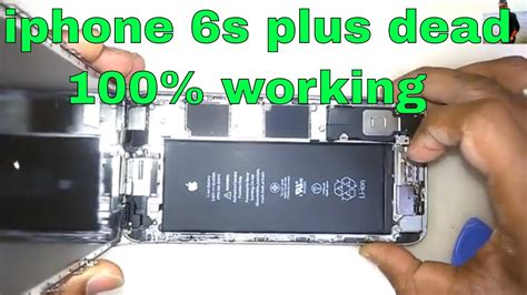 Iphone 6s Plus Dead Fix U2 Ic Replace & 100% Working