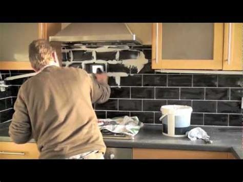 How to tile a kitchen.m4v   YouTube