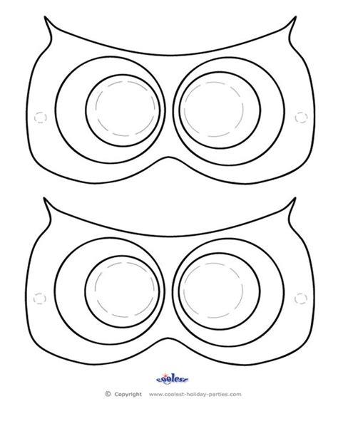 printables mask template   ojays  pinterest