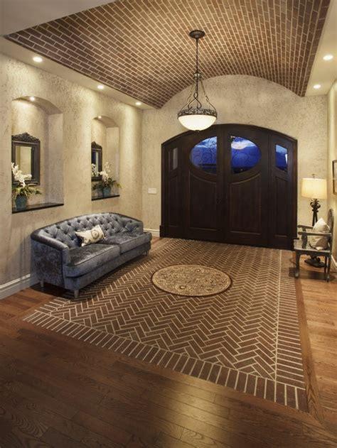 herringbone brick floor houzz