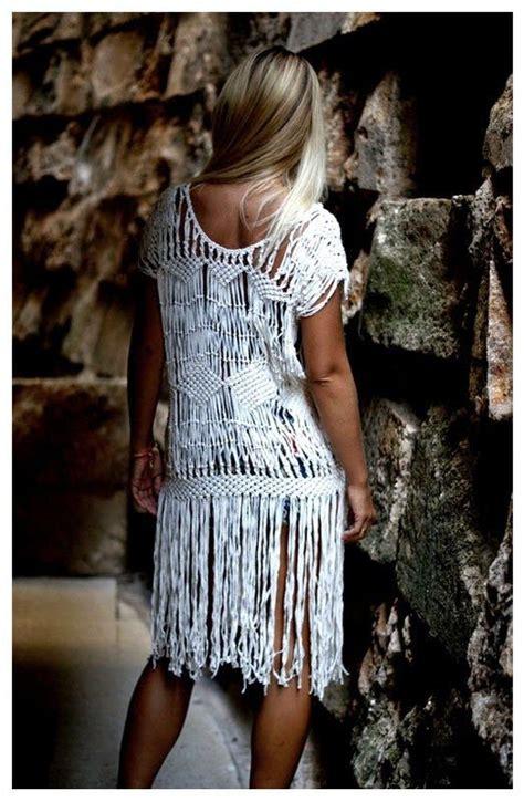 Macramé Dress  Dirtbin Designs  Summer 14  Pinterest  Handarbeiten Und Häkeln