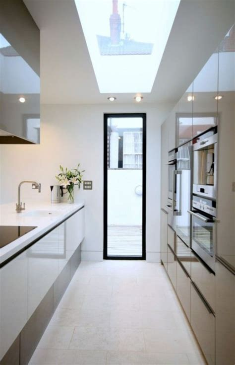 31 stylish and functional super narrow kitchen design