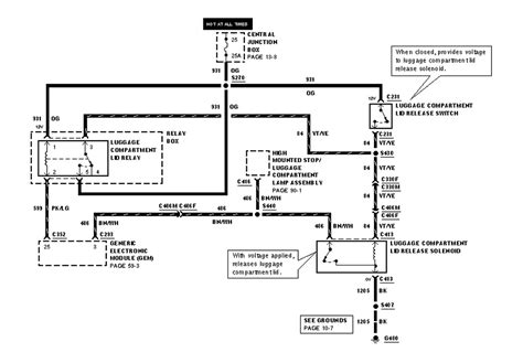 2000 ford mustang stereo wiring diagram 2000 ford mustang wiring diagram autos weblog