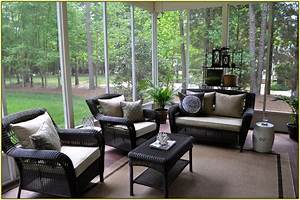 outdoor screened porch furniture With screened in porch furniture ideas