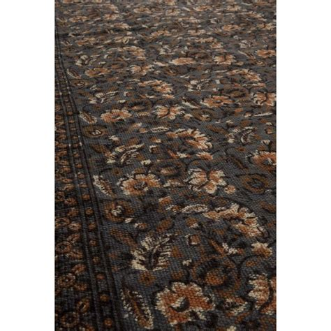canapé hollandais tapis indian block gris par drawer