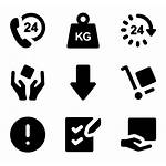 Package Icons Shipping Vector Handly Delivery Packaging