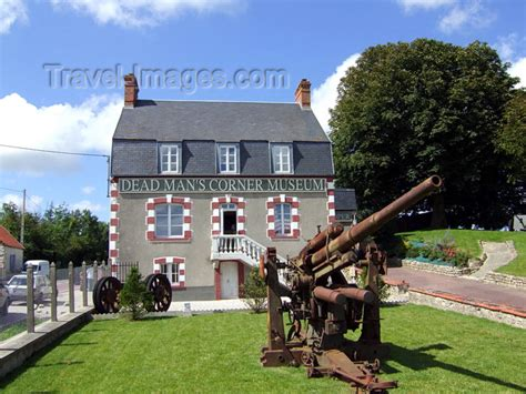 Saintcômedumont, Carentan, Manche, Bassenormandie, France Deadman's Corner Museum Dday