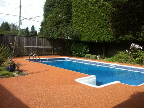 vancouver pool deck paving projects pool deck resurfacing