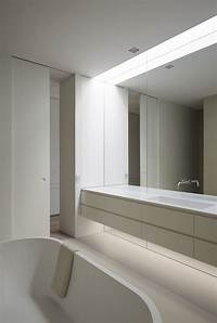 bathroom wall mirror Bathroom Mirror Ideas - Fill The Whole Wall | CONTEMPORIST