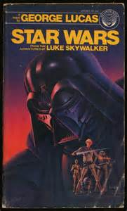 Star Wars 1976 Novel Book Cover