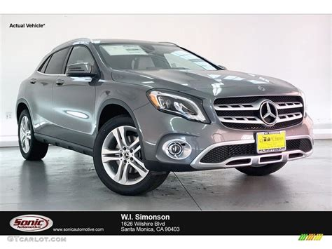 To insure a proper match, you'll need to know your vehicle's color code so you can find it on the chart below. 2020 Mountain Grey Metallic Mercedes-Benz GLA 250 ...