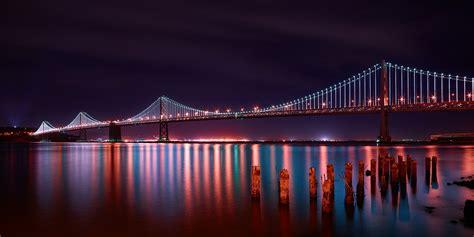 bay bridge lights bay bridge paul reiffer photographer landscape
