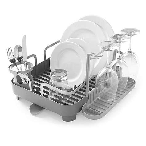 umbra holster dish rack  charcoal bed bath