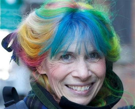 Rainbow Hair Coloring For Older Women Hair Color For