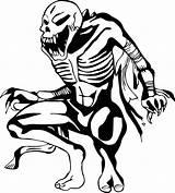 Coloring Skeleton Waiting Skeletons Nice Wecoloringpage France Sketch sketch template