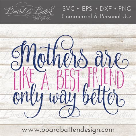You can copy, modify, distribute and perform the work, even for commercial purposes, all. Mother's Day SVG Bundle - Board & Batten Design Co.