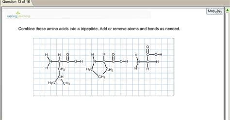solved draw the dipeptide alanylvaline amino acid struct