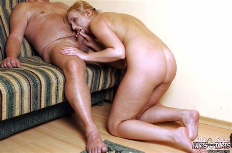 Ripened Blondes For An Old Fart Ofyt Naughty Daughter Dirty Knows Fucking By A Senior