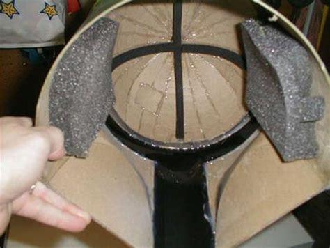 cardboard boba fett helmet geekologie