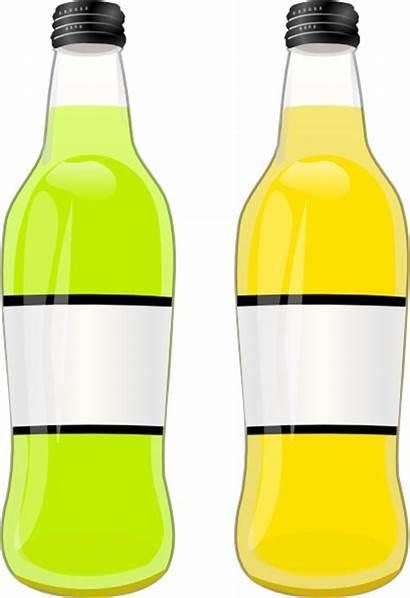 Bottles Clip Clipart Clker Vector Svg