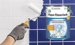 Jäger Aqua Fliesenlack : badwannen streichen und fliesen lackieren so gehts jaeger ~ Watch28wear.com Haus und Dekorationen